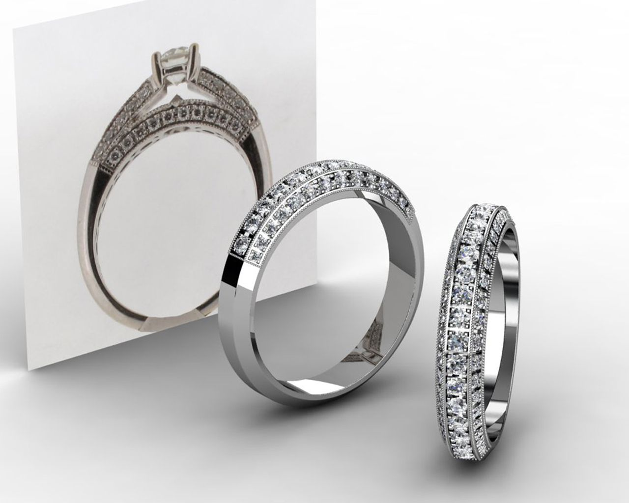 Creating the perfect wedding band couldn't be easier.At Wongs Jewellers we have the perfect team ready to help from designers to goldsmith all available in store.