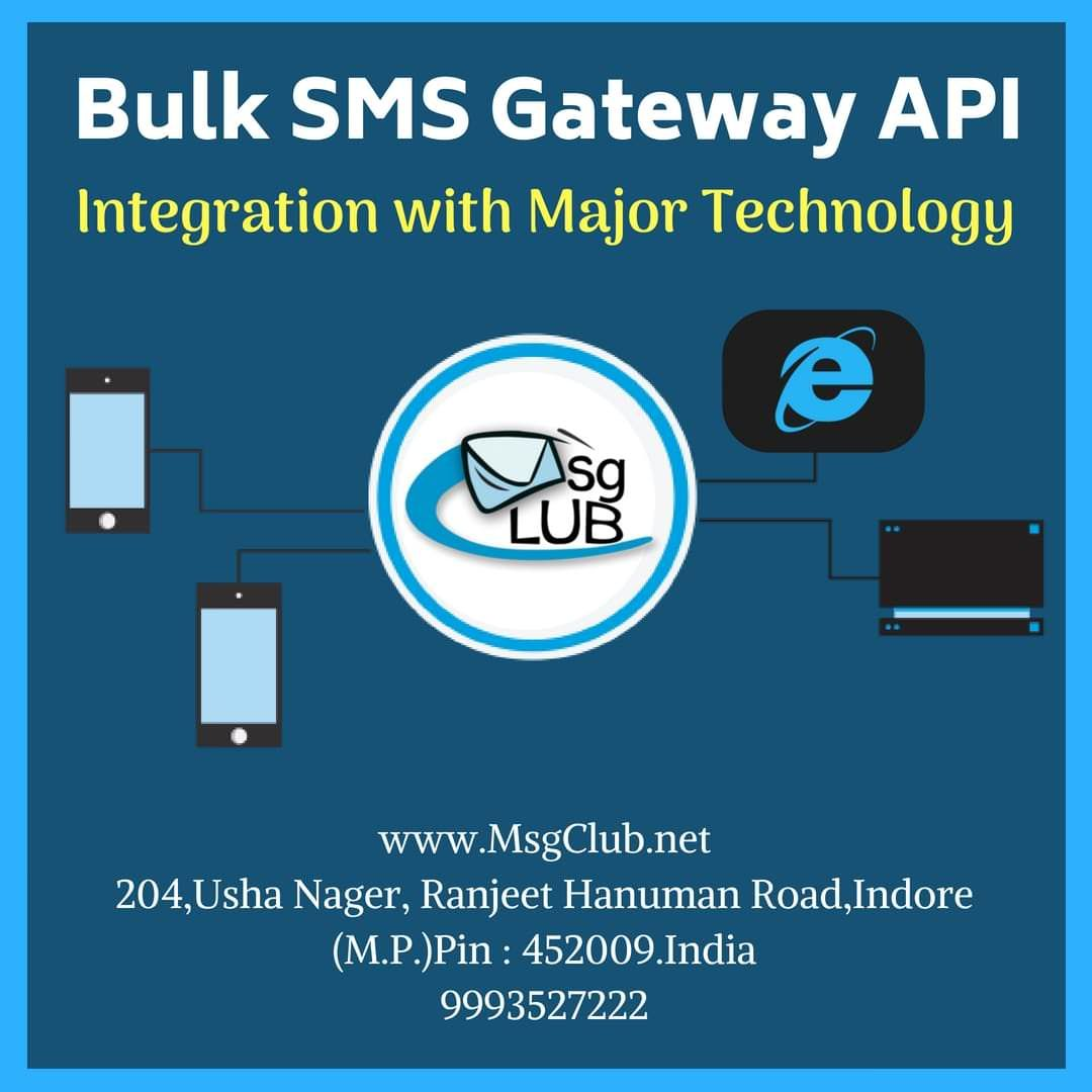 Bulk SMS Gateway API tool for Mobile Marketing | For Bulk