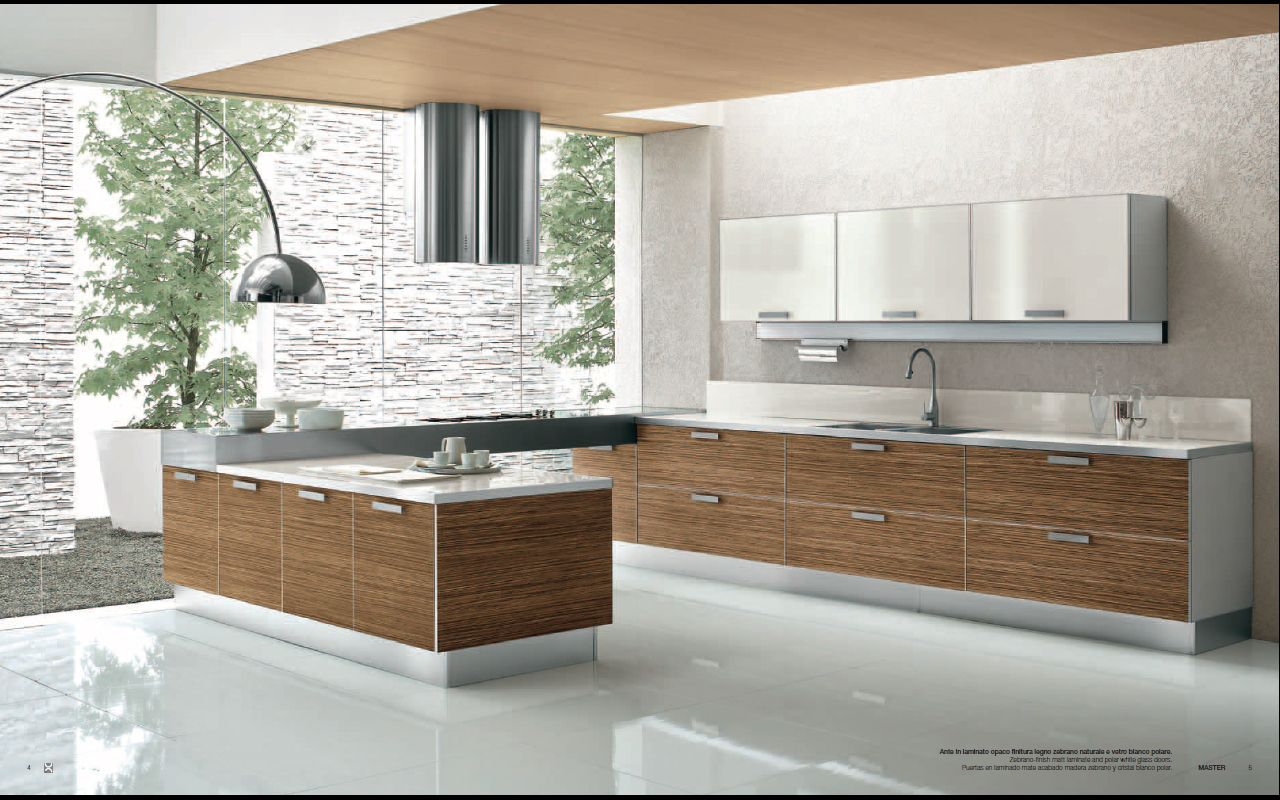 Contemporary interior design designs from berloni for Modern kitchen interior design ideas