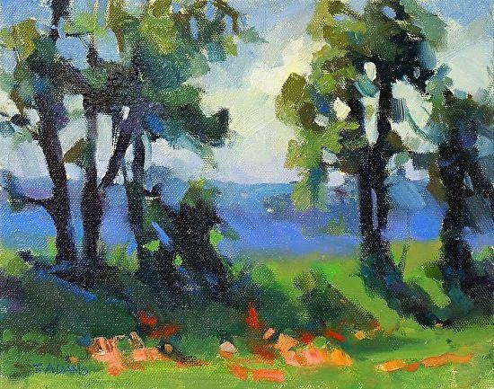 Luxury Blue Ridge Paints