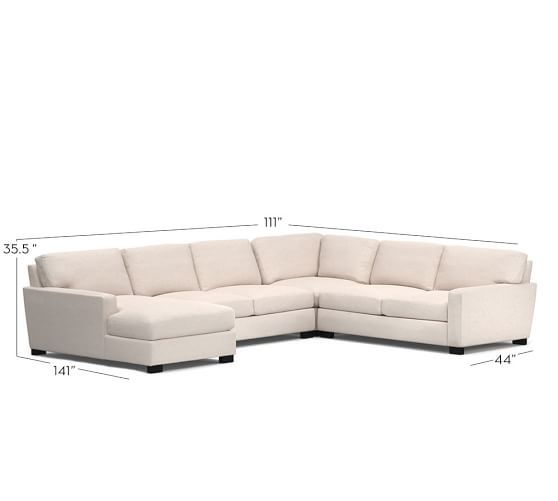 Lovely Pottery Barn Seabury Sectional