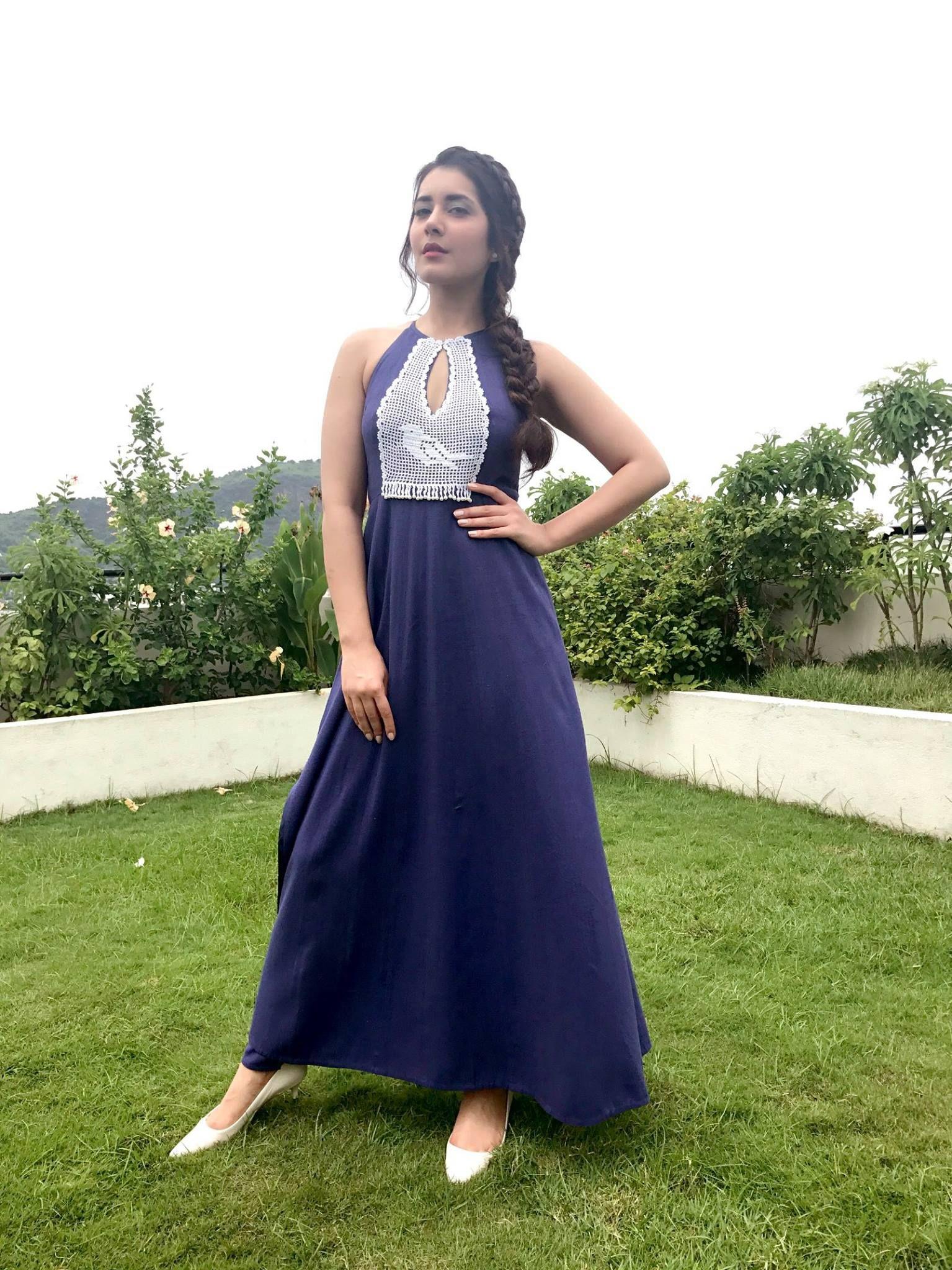 Rashi khanna sarees pinterest embroidery thread blue colors