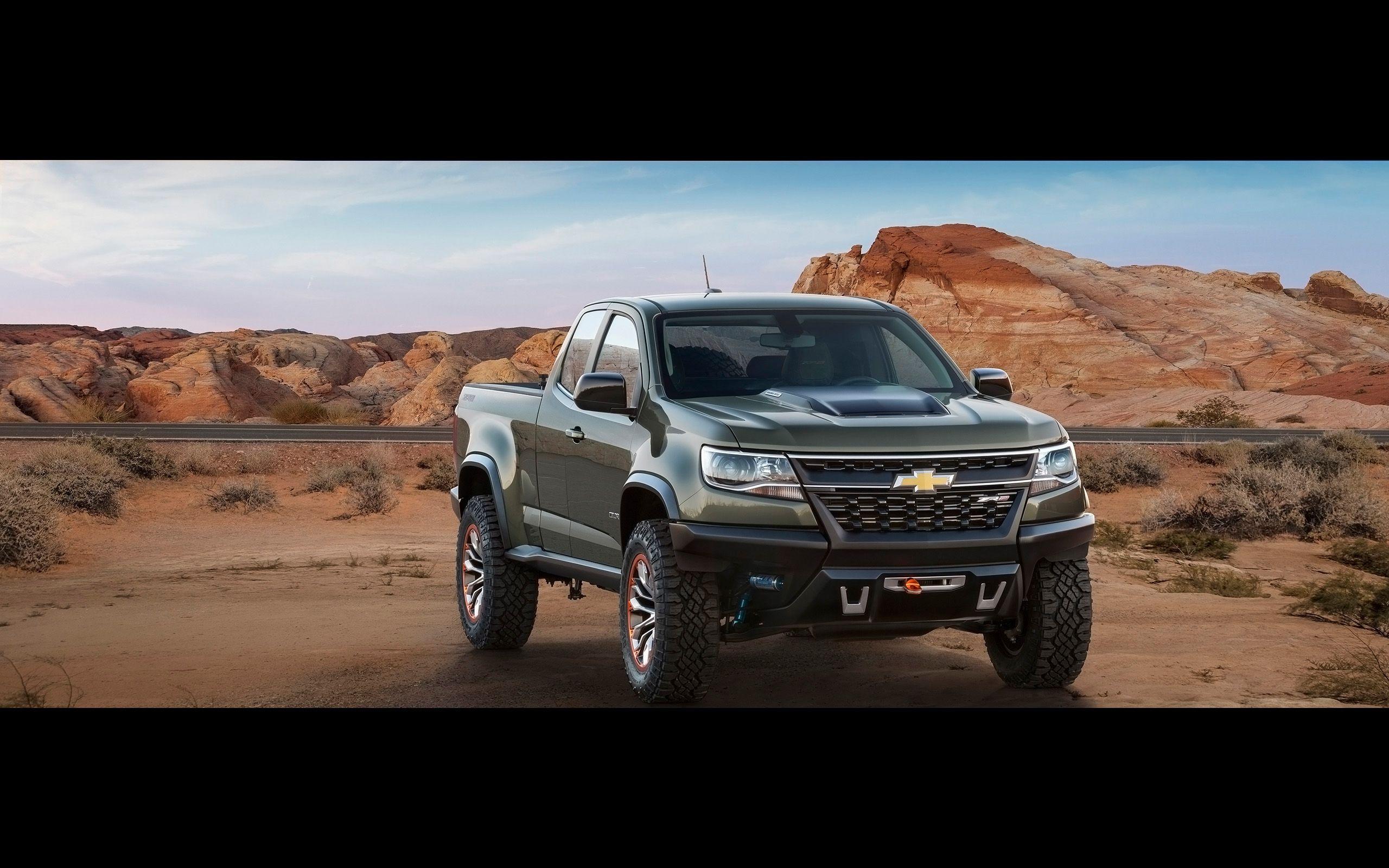 2014 Chevrolet Colorado ZR2 concept truck