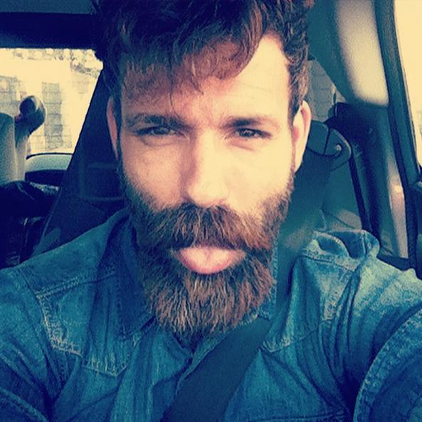 London look model Alejandro Gil. Beard bearded barba gentleman