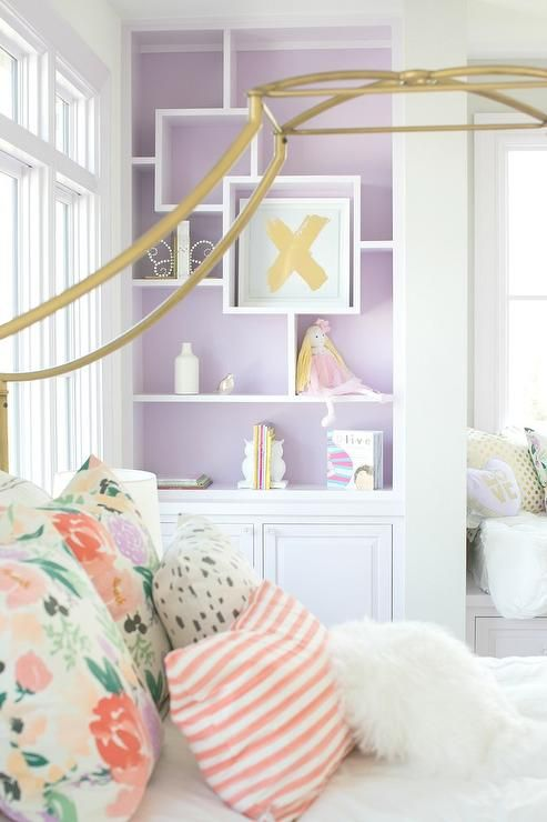 Gorgeous teen girl s bedroom features a Pottery Barn Teen Gold