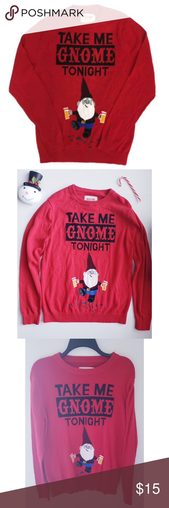 Gnome Ugly Christmas Sweater In 2018 My Posh Picks Pinterest