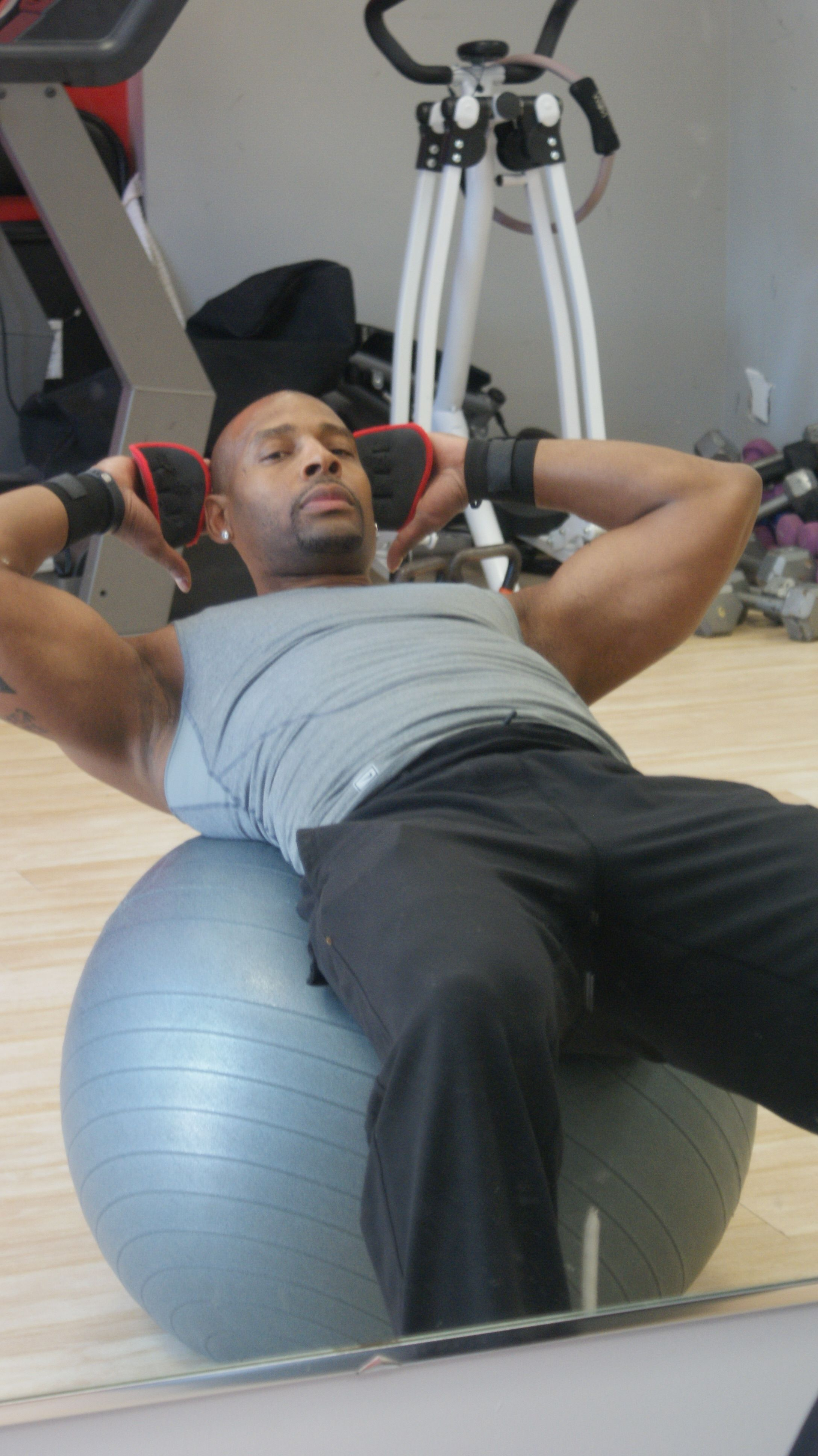 Working that core!!!