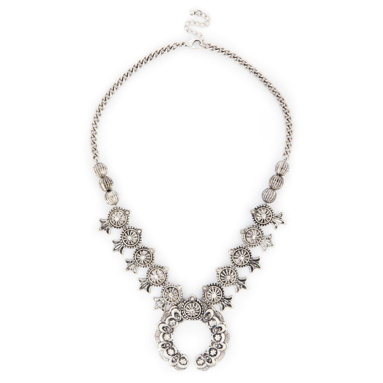 "Sole Society ""Squash Blossom Necklace"", $44.95"