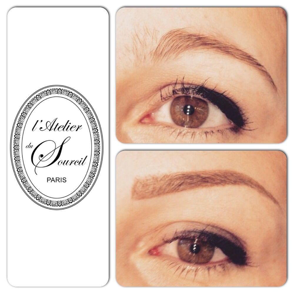 Epingle Par Sandra Lobeau Sur Sourcils 1 Makeup Eyebrows Et Semi
