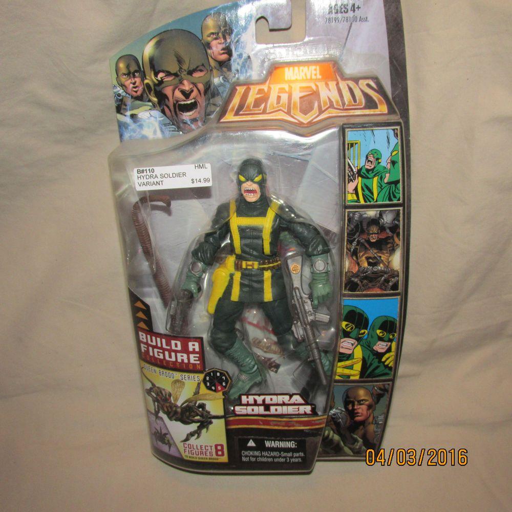 Marvel Legends Hydra Soldier Agent Brood Queen BAF Series