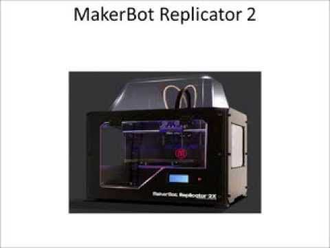 Makerbot Replicator 2x Review #makerbot_replicator #3d_printing