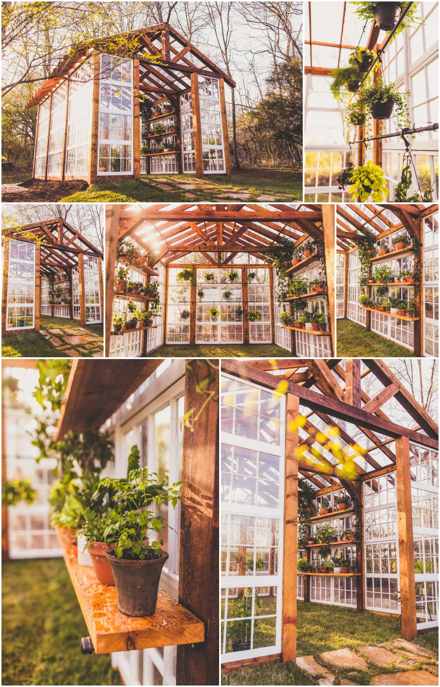 The Vaughan House Greenhouse Located In Virginia. Built By