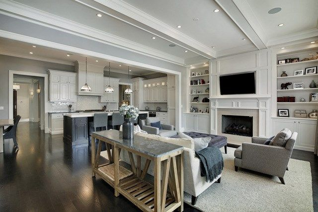 Interior Of Luxury Home In Chicago, Illinois