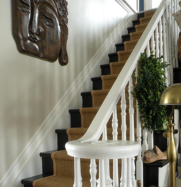 Sisal Gold Stair Runner Carpet