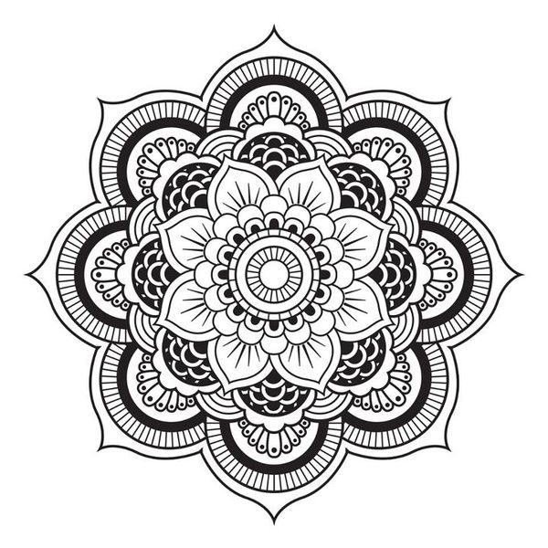 a mandala i ve tried countless times to draw this and i fail every
