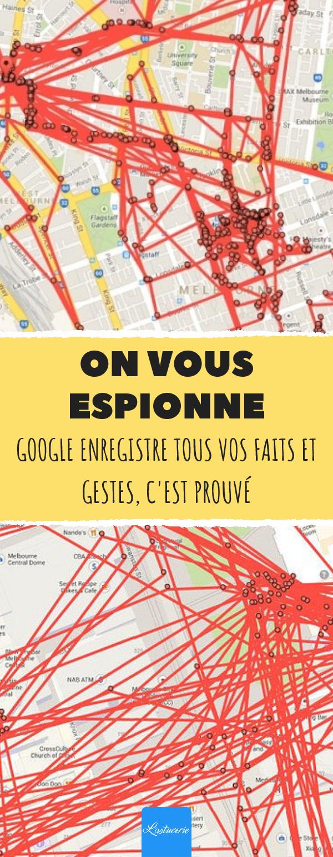 Comment éviter que Google enregistre tout ce que vous