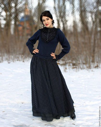 af7d2000606 Платья ручной работы. Ретро-платье из коллекции