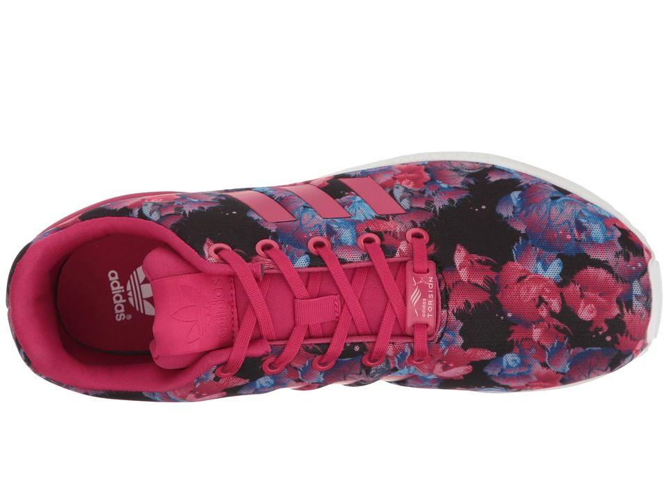 838322eae121 adidas Originals Kids ZX Flux (Big Kid) Girls Shoes Bold Pink Bold Pink Footwear  White