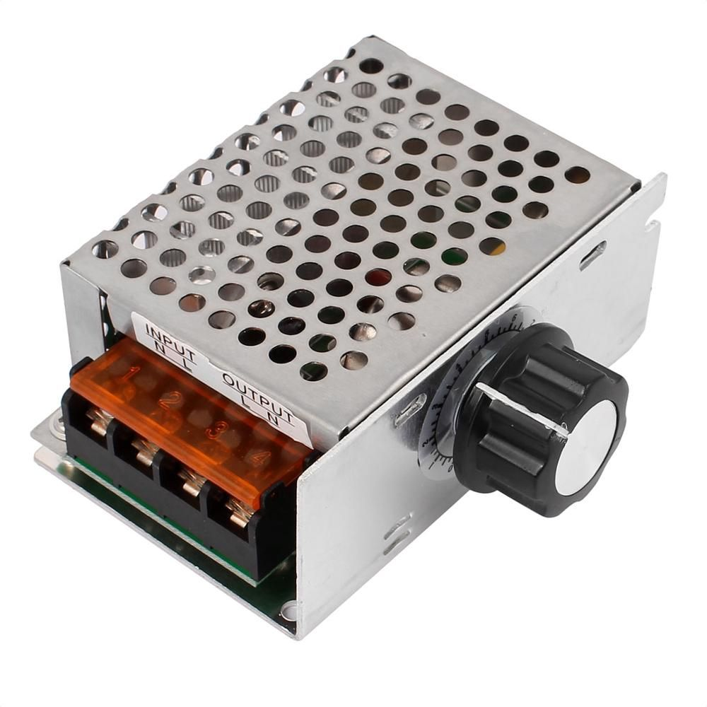 Electric Unit 220v 1000w Ac Scr Voltage Regulator Dimmer Motor Speed Picture Control Of Using Controller Module