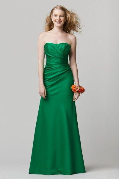 In aubergine.  My bridesmaids dresses! Bliss Bridal (Brookfield, WI) Wtoo Maids Dress 675