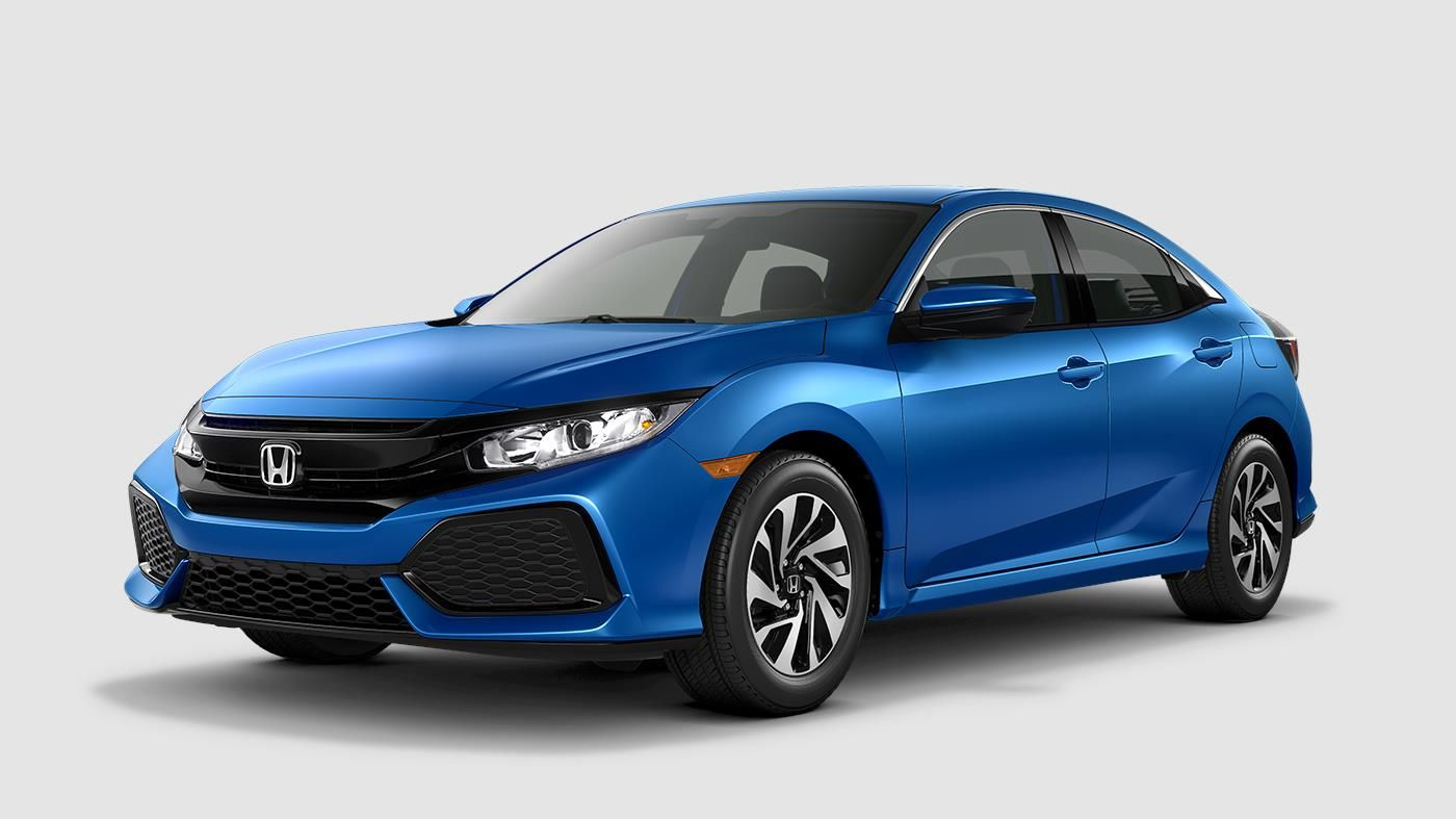 2018 Honda Civic Hatchback EXL Navi The Bold Hatchback