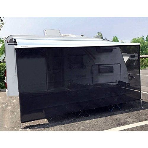 Black Rv Awning Shade Net Complete Kit 8 X 10 Rv Awning Shade Kit Shade Screen Awning Shade Canopy Shelter