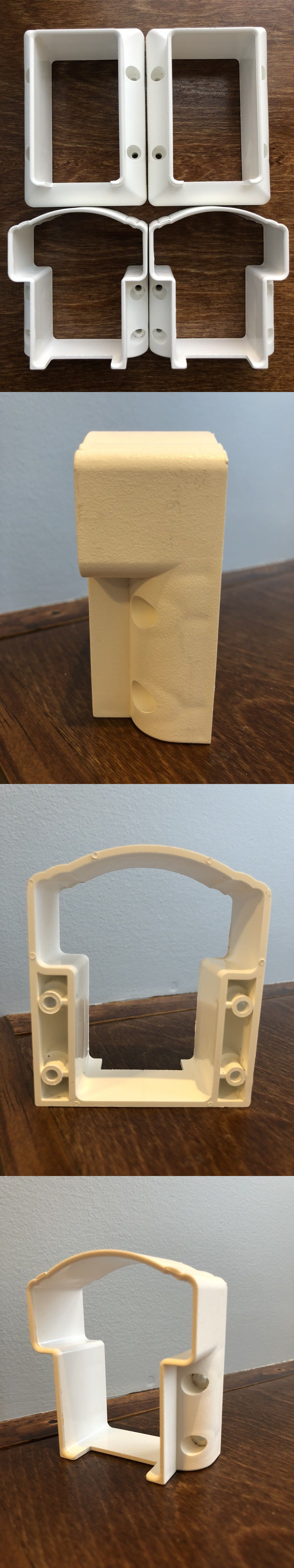 Fencing Clips and Brackets 180987: New - White Vinyl ...