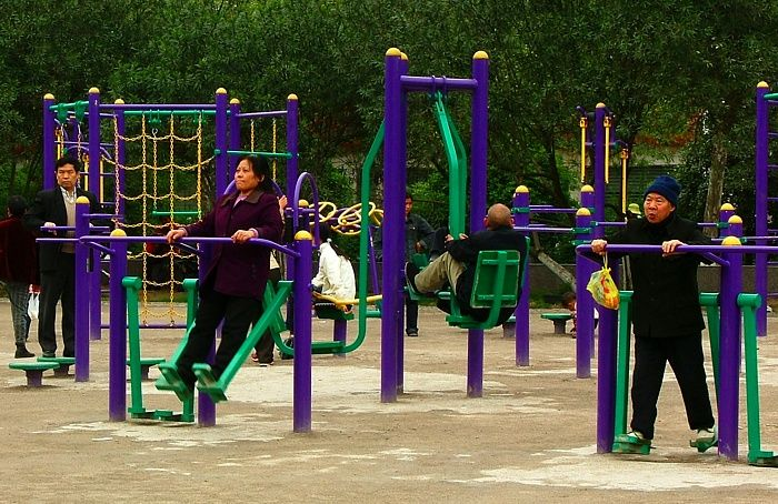 Play your way to fitness - use your local playground as an outdoor gym!