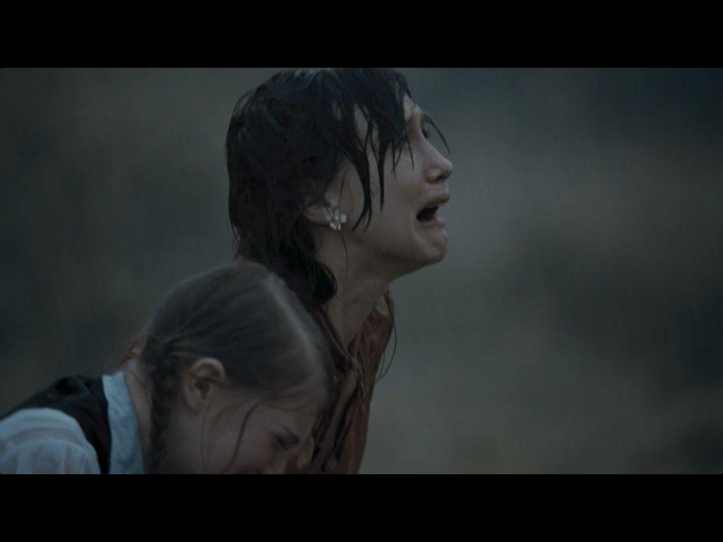 Katniss and Prim when they find out about the Quarter Quell...soooooooooooooooooooooo sad!