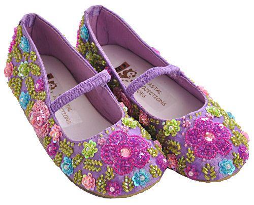 Girls boutique shoes, Sequin shoes