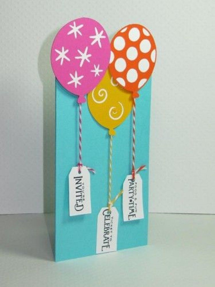 Handmade Birthday Invitation Card Maker Birthday Party