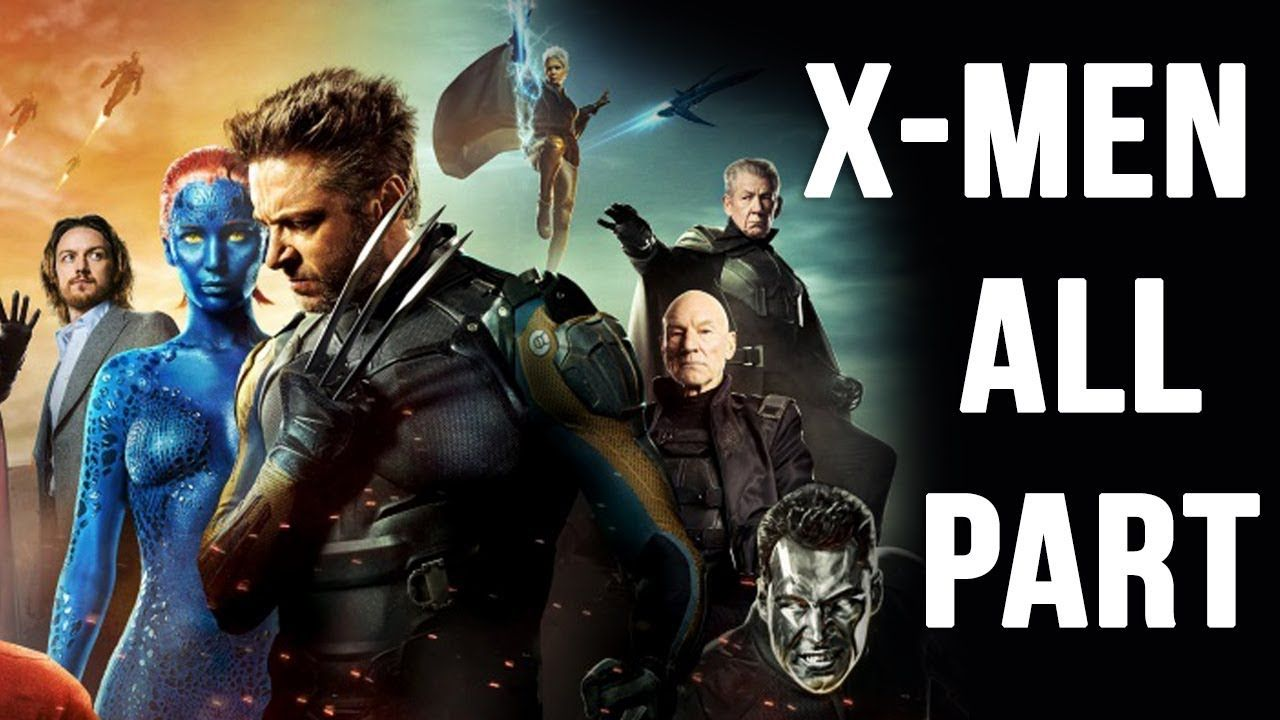 Hollywood Action Movies X Men All Part Hindi Me