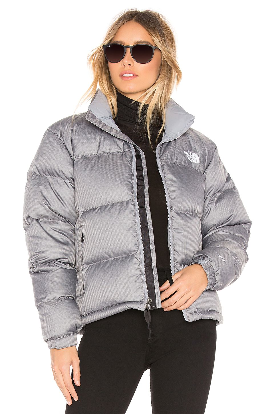 2154e44bf The North Face 1996 Retro Nuptse Jacket in TNF Medium Grey Heather ...