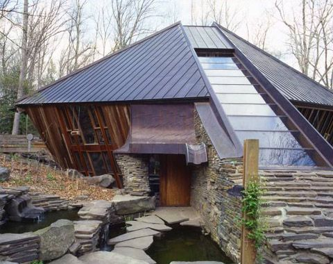 Architect Nancy Copley S Home Earth Homes Architect Unusual Homes