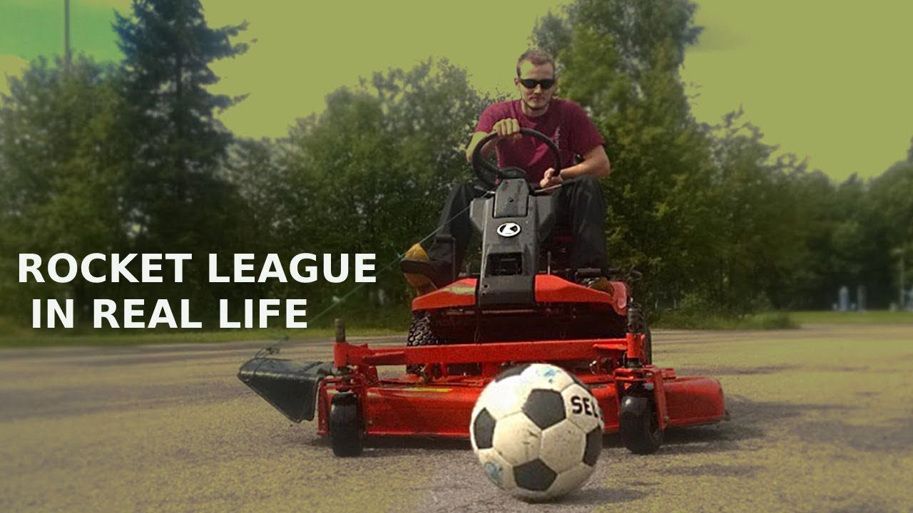 Rocket League In Real Life Car Soccer Game Fun Online Games Life Car Rocket League