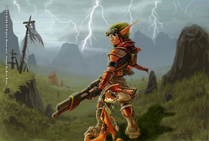 Jak 4 Concept Art Is To Die For Concept Art Jak Daxter