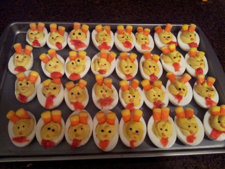 turkey deviled eggs | Holidays | Pinterest | Turkey ...