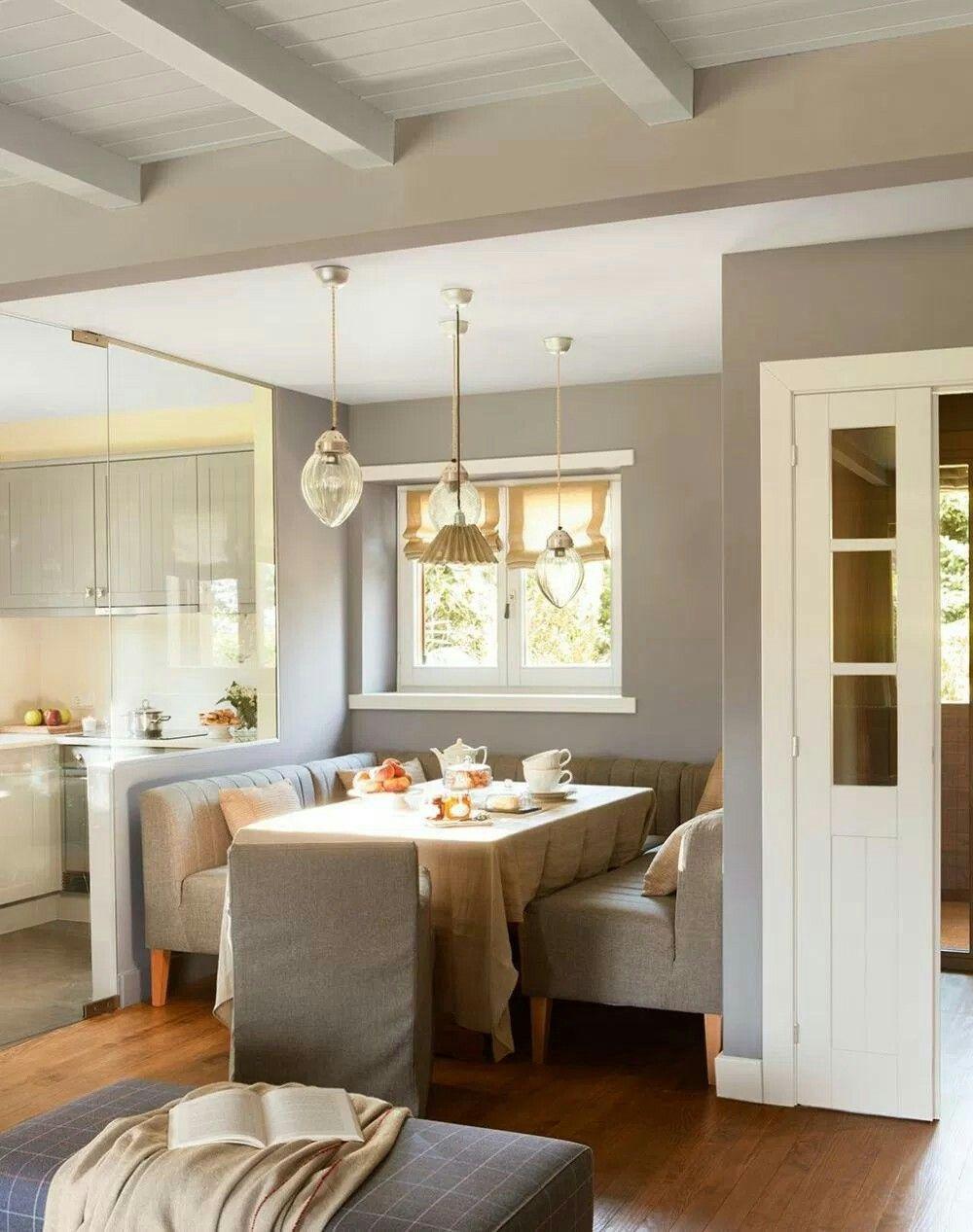 Pin De Manu Gmz En Home Deco Pinterest Comedores Cocinas Y Ba O ~ Techos Decorativos Para Interiores