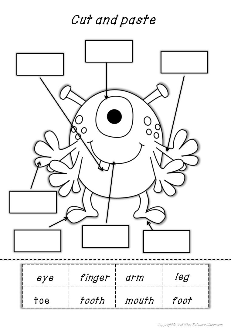Apotelesma Eikonas Gia Parts Of The Body Printables Preschool Teach English To Kids Literacy Worksheets English Worksheets For Kids [ 1090 x 761 Pixel ]