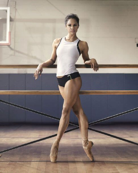 Most Fit Female Athletes in Sports on SI's Fittest 50 List | Misty  copeland, American ballet theatre, Ballet dancers