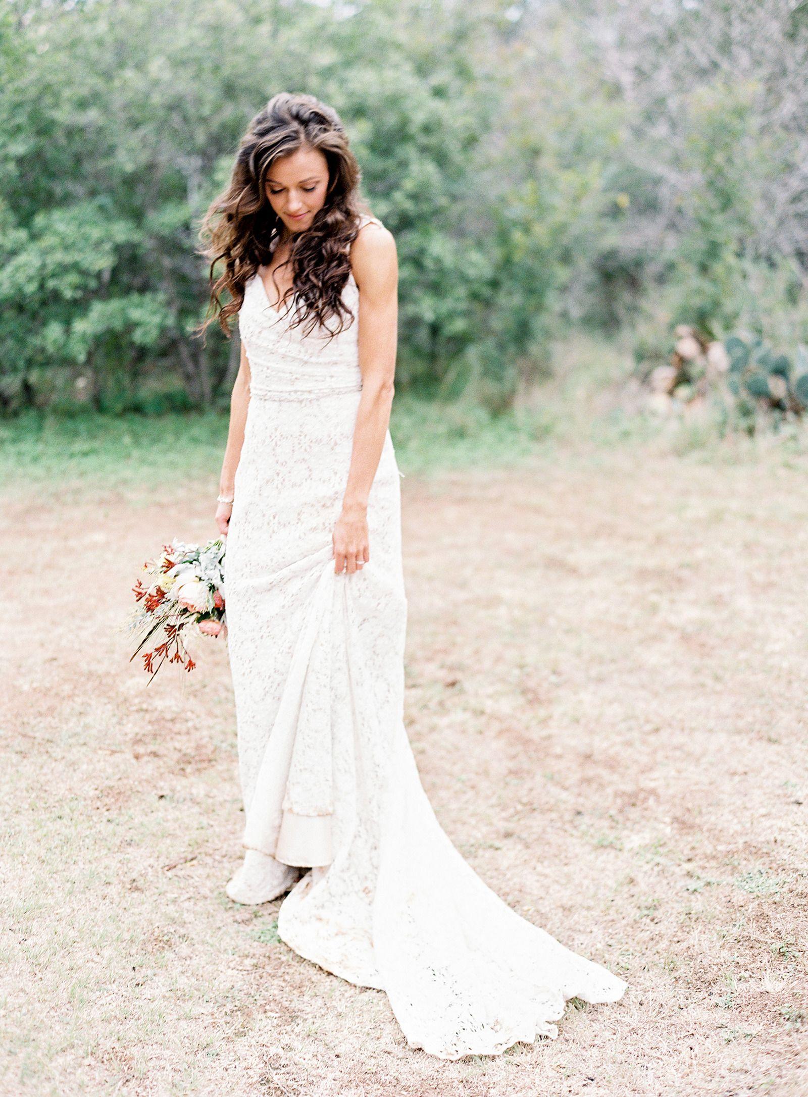 Outdoor boho austin wedding uc big day dresses ue pinterest