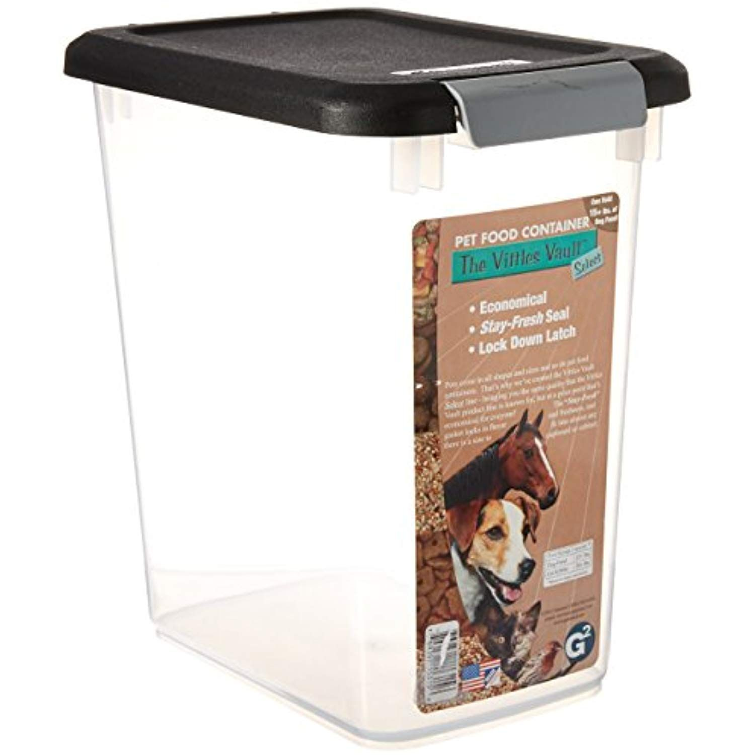 Gamma 693018 Vittles Vault Select Pet Food Containers 15 Pound