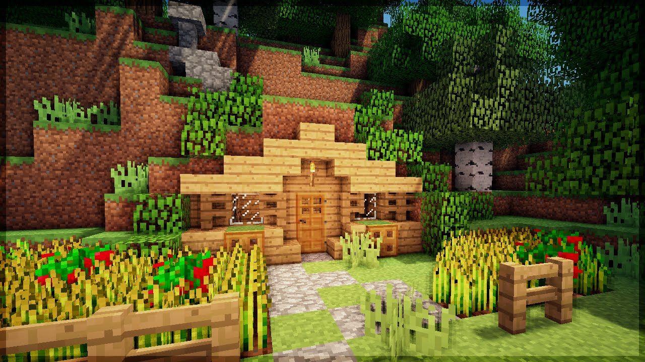 Minecraft Construa Uma Casa Na Montanha Em 5 Minutos No