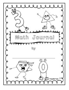 Free Math Journal Covers Math Journals Free Math Math