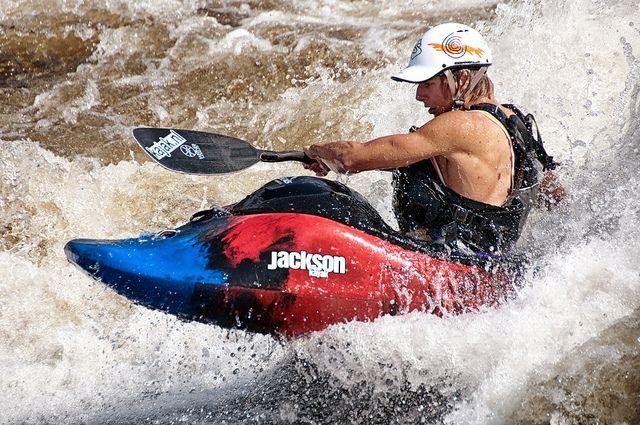 Kayak - Ottawa River by Mark Heine Photos, via Flickr