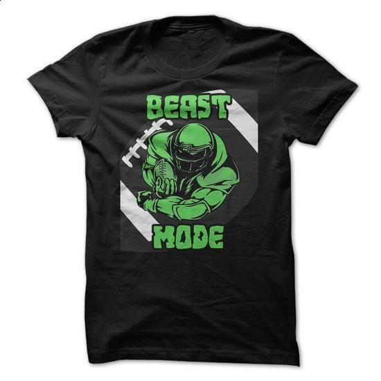 Beast Mode Football Funny Shirt - #cool tee shirts #capri shorts. ORDER HERE => https://www.sunfrog.com/Sports/Beast-Mode-Football-Funny-Shirt.html?id=60505