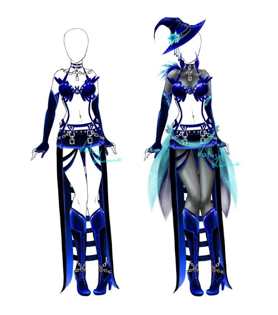 Outfit design - 65 - closed by LotusLumino.deviantart.com on @deviantART
