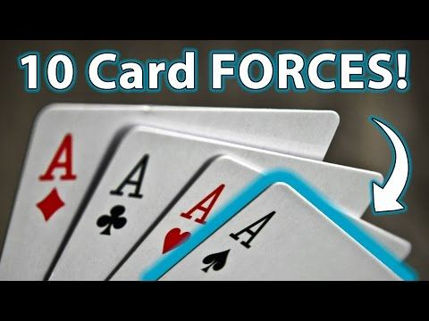 10 Top Easy Ways To Force A Card Magic Tricks How To