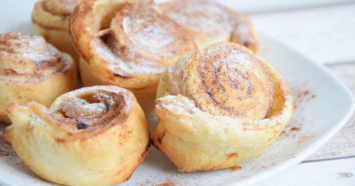 A New Day: Cinnamon apple rolls - Apfel Zimt Schnecken