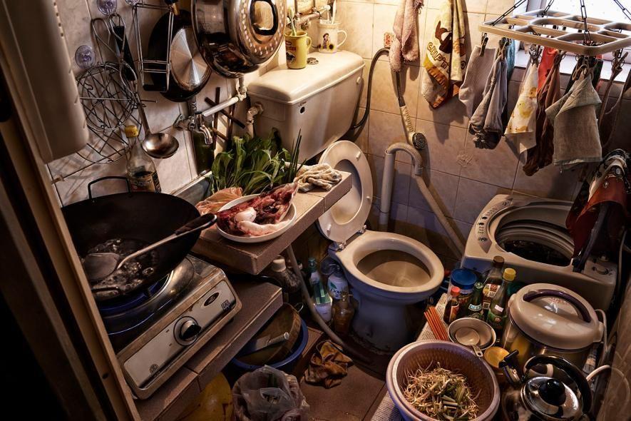 Así son las «casas ataúd» donde viven 200.000 personas en Hong Kong |  National Geographic | Metro cuadrado, Hong kong, Cuadros